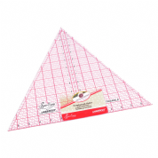 "Sew Easy Patchwork Ruler - 60 Degree Triangle - 12"" x 13.875"""